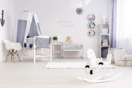 lightsome: Bright and cozy room for a small child with the necessary equipment
