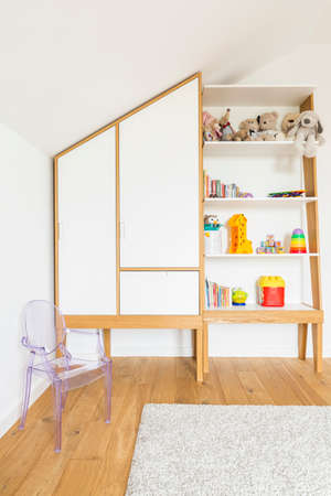lightsome: Vertical view of cozy room for child