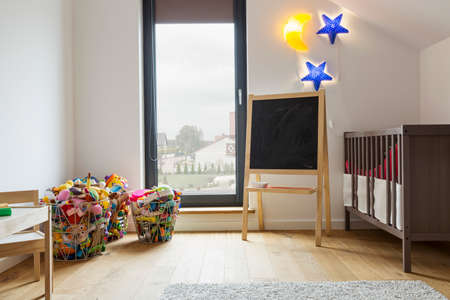 neighbour: Picture of cozy room for a child Stock Photo