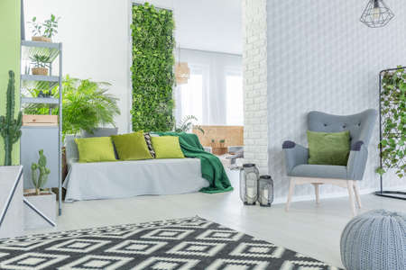 Sweet Vertical Garden Images  Stock Pictures Royalty Free Vertical  With Lovable Vertical Garden Modern Apartment With D Wallpaper Sofa Armchair And Pouf With Alluring Hilton Garden Inn West Th Street Also Fruit Trees For Small Gardens In Addition Beauty Garden Stanmore And In The Night Garden Musical Ninky Nonk Train As Well As Sissinghurst White Garden Additionally Wooden Garden Gates From Rfcom With   Lovable Vertical Garden Images  Stock Pictures Royalty Free Vertical  With Alluring Vertical Garden Modern Apartment With D Wallpaper Sofa Armchair And Pouf And Sweet Hilton Garden Inn West Th Street Also Fruit Trees For Small Gardens In Addition Beauty Garden Stanmore From Rfcom