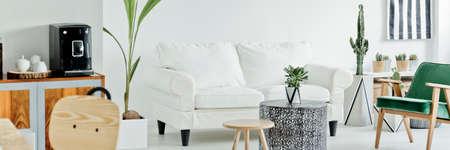 #76853914   Modernes Wohnzimmer Im Scandi Stil
