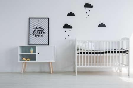 Tipi Zelt Im Schwarzen Und Weissen Kinderzimmer Lizenzfreie Fotos