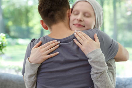Young marriage happy after successful breast cancer treatment and remission