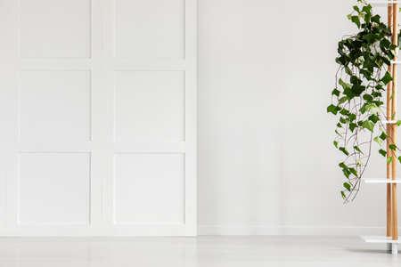 Whity interior vacío. Lugar para tu cartel