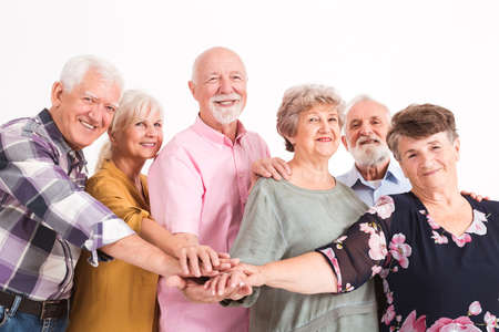 Senior people one for all, all for one
