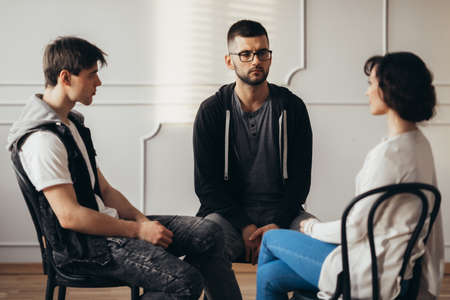 Group therapy brings people together who struggle with similar issues, like depression, anxiety, emotion regulation, or eating disorders