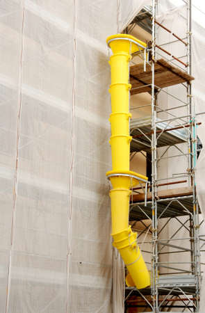 scaffold for building renovation Stock Photo - 16941927