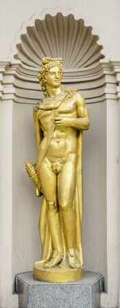 Male god sculpture Reklamní fotografie