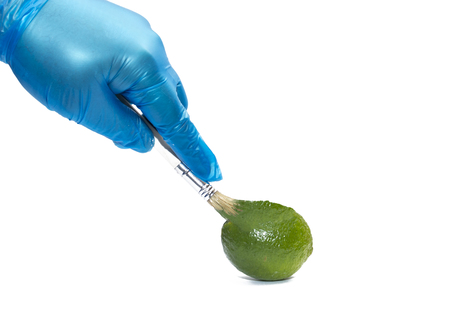 Lime genetic color manipulation Genetically modified food. Genetic engineering