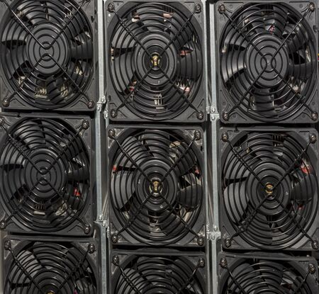 Cooler for power source of computer fan airflow