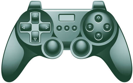 Video game controller pad Stock Vector - 8043811