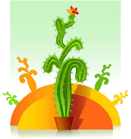Cactus Stock Vector - 8067448