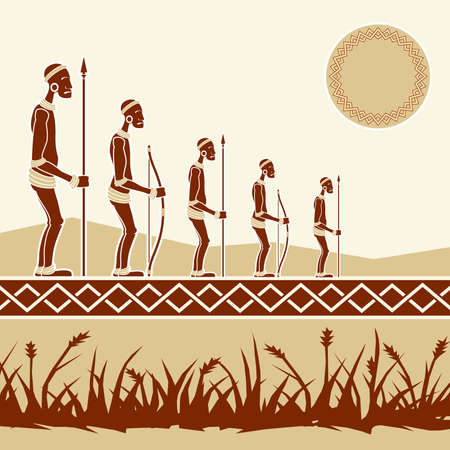 tribo: povos africanos