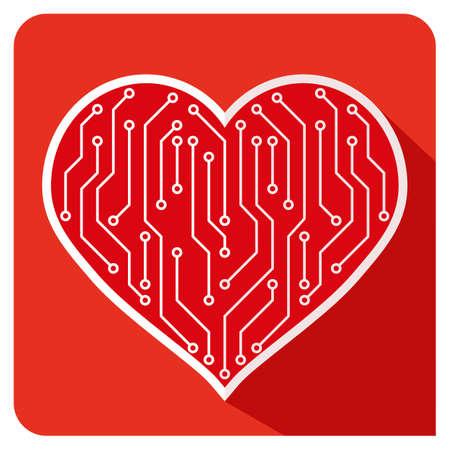 february 14th: Hearts PCB Love