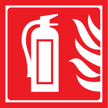 extinguisher: fire extinguisher