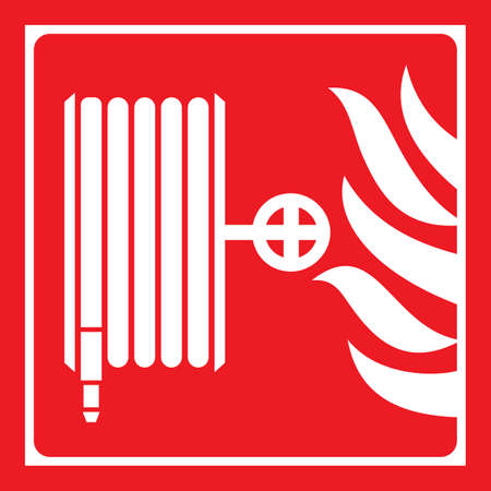 firefighting: Signs for fire safety