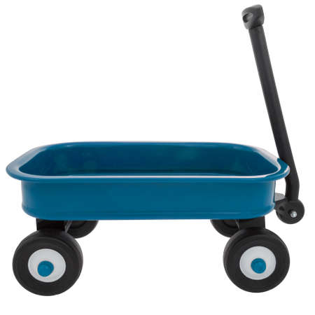 Child s Small Toy Wagon 版權商用圖片