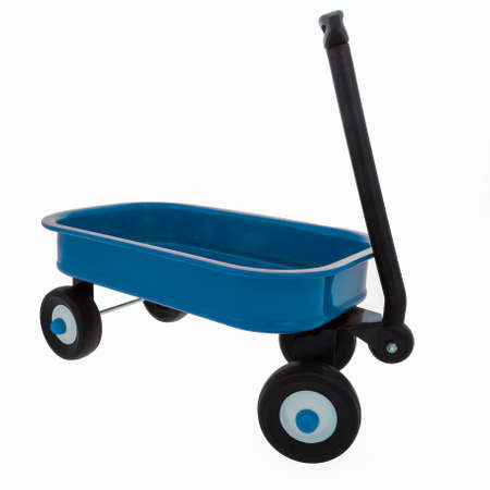 child s: Child s Small Toy Wagon Stock Photo