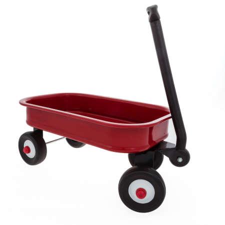 Child s Small Toy Wagon Stok Fotoğraf