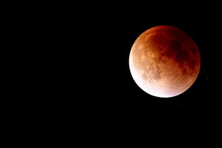Super Full Blood Moon