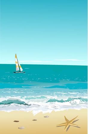 sandy:  Beach