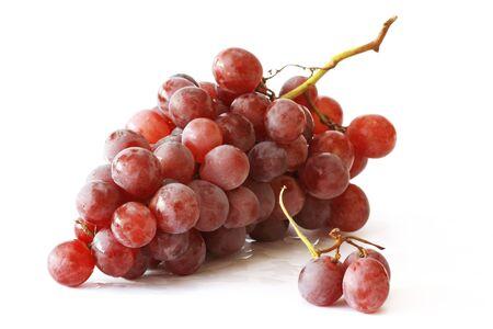 Grappe de raisin rouge