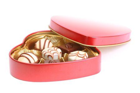 Assortiments de bonbons au chocolat