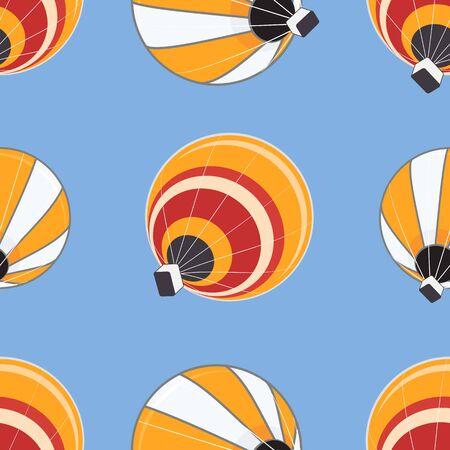 Seamless ballons � air chaud