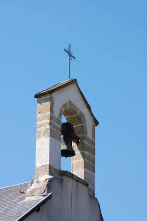 frans: A church bell in france Stock Photo