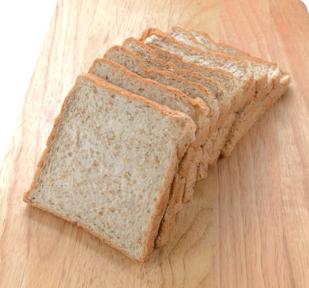 One sliced loaf of bread