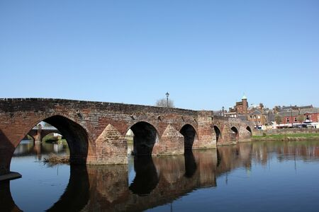 dumfries and galloway: Bridge over River Nith in Dumfries, Scotland.