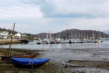 affluence: A Quiet Morning at Tarbert Harbour, West Loch Tarbert, Argyllshire, Scotland.