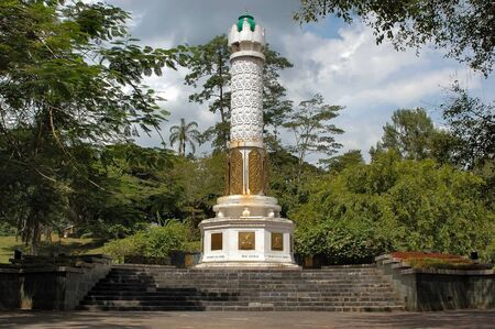 south east asia: Freedom fighters memorial at Kuching Sarawak Borneo South East Asia