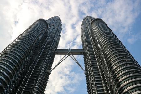 Petronas Twin Towers Kuala Lumpur Malaysia Editorial