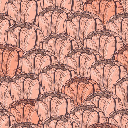 tender: Tender tulip seamless pattern. Vector flower background for print, fabric, wrapping paper, greeting cards.