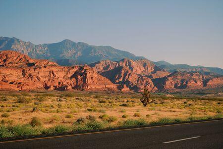 Rock formations outside St. George Utah