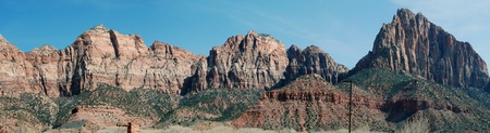 Zions park panorama