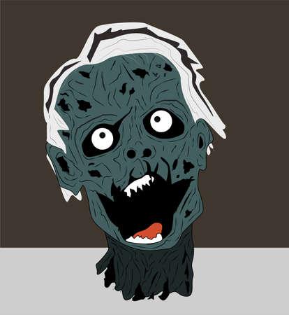 freaky: Groaning Zombie Head