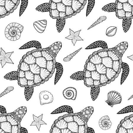 Fein Meeresschildkröte Färbung Seite Realistisch Galerie - Ideen ...