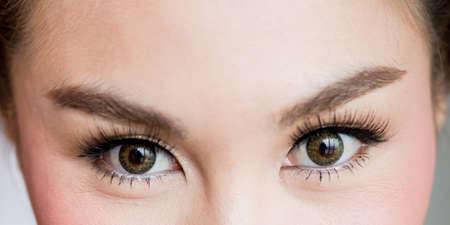 southern european descent: Eyes