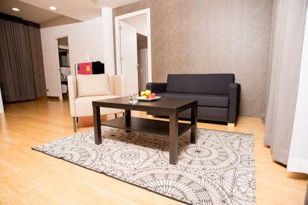 hotel suite: luxury suite in hotel Editorial