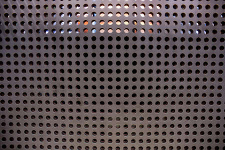 reticular: Metal net circle texture background. Stock Photo