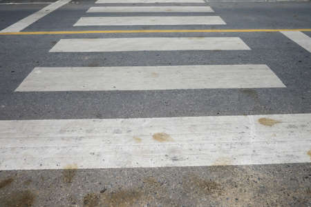 paso de cebra: Paso de peatones en la calle.