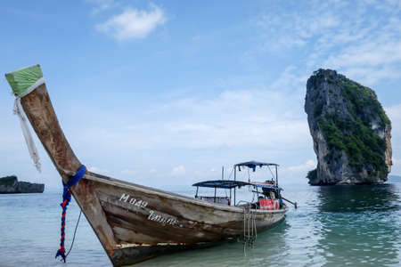 long tail: Long tail boat in Thailand