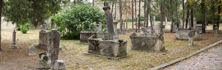 Khan's Cemetery (mezarlyk). Holy ancient place. Here lie the remains of nine of the Crimean khans, forty-five members of the genus khan (men and women), as well as several representatives of the supreme court nobility. Most of the marble monuments decorat
