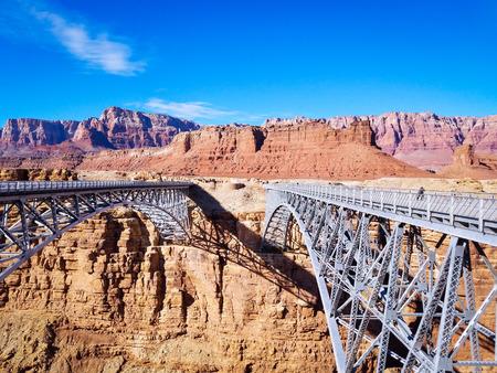 glen: navajo bridge glen canyon arizona