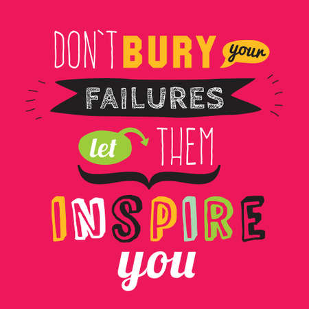 Inspirational and motivational quotes vector poster design. Stylish and modern typographic. Good for for banner and flyer, placard or card design.