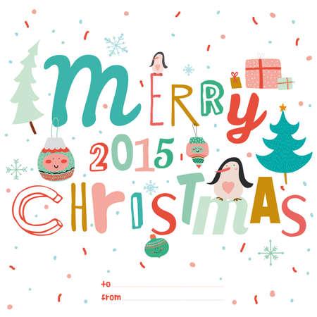 Vintage Frohe Weihnachten Und Guten Rutsch Ins Neue Jahr ...