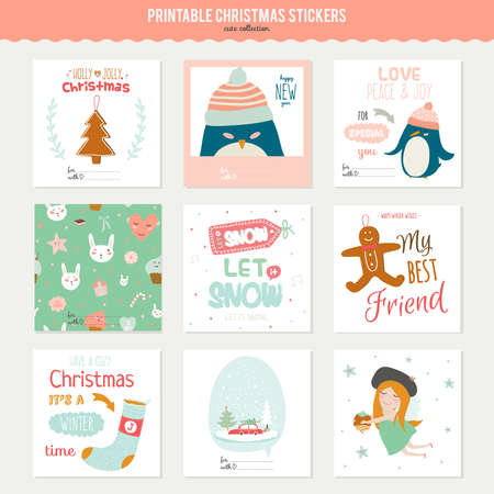 Romantic And Love Cards Notes Stickers Labels Tags With Spring