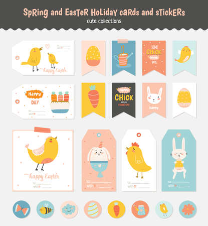 Easter gift stickers merry christmas and happy new year 2018 easter gift stickers negle Images